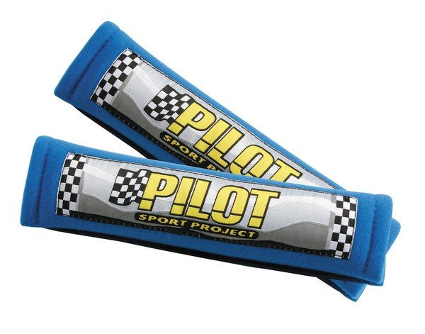 Pilot belt pads belt cover blue