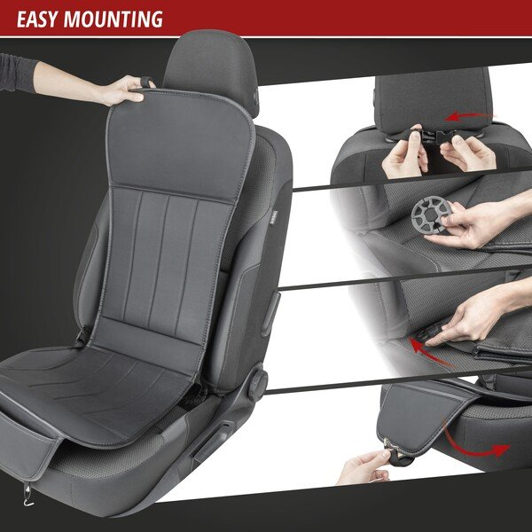 Car seat cover Lewis grey