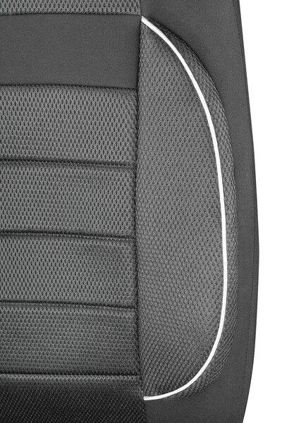 ZIPP IT Premium Rover Autositzbezüge für zwei Vordersitze mit Reissverschluss System