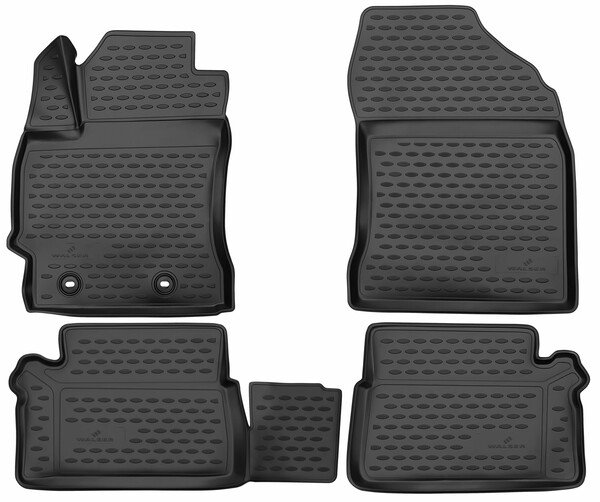 XTR rubber mats for Toyota Auris hatchback year 10/2012 - 12/2018