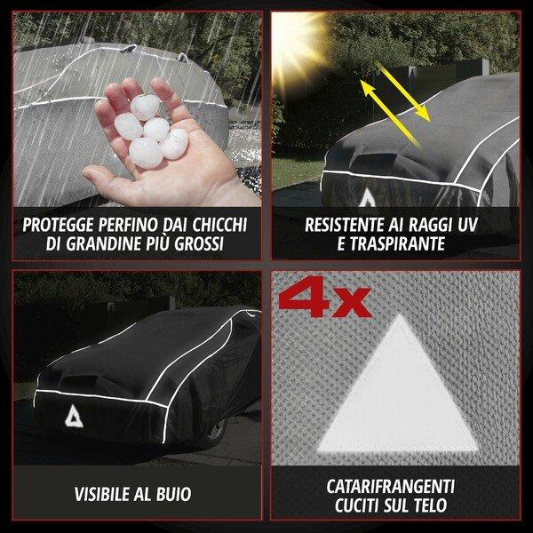 Protezione antigrandine per auto Protezione ibrida dai raggi UV Dimensione XXL