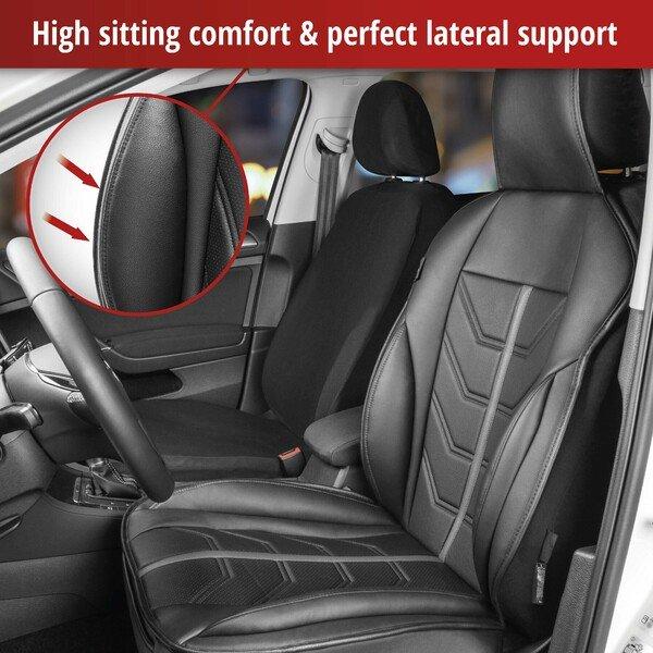 Car Seat cover Kimi black grey