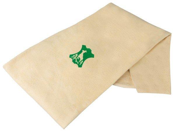 Chamois cloth beige, 68 x 43 cm