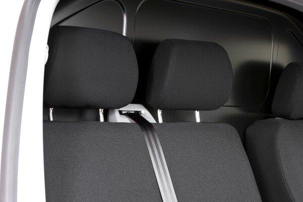Autositzbezüge für VW T5 Doppelbank vorne umlegbar aus Stoff Baujahr 09/2009 - heute