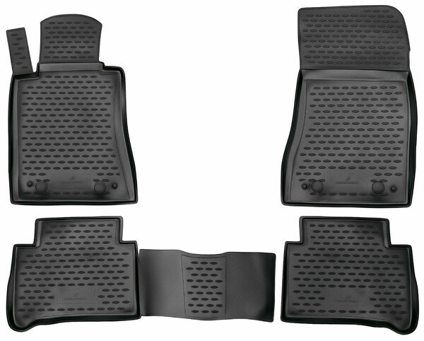 XTR rubber mats for Mercedes-Benz E-Klasse (W211/S211) year 2002 - 2009