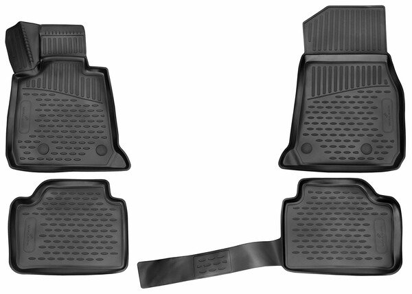 XTR rubber mats for BMW 3 Touring (F31) year 07/2012 - 06/2019