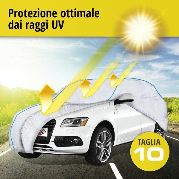 Telone protettivo Sun Reflect dimensioni 10 argento