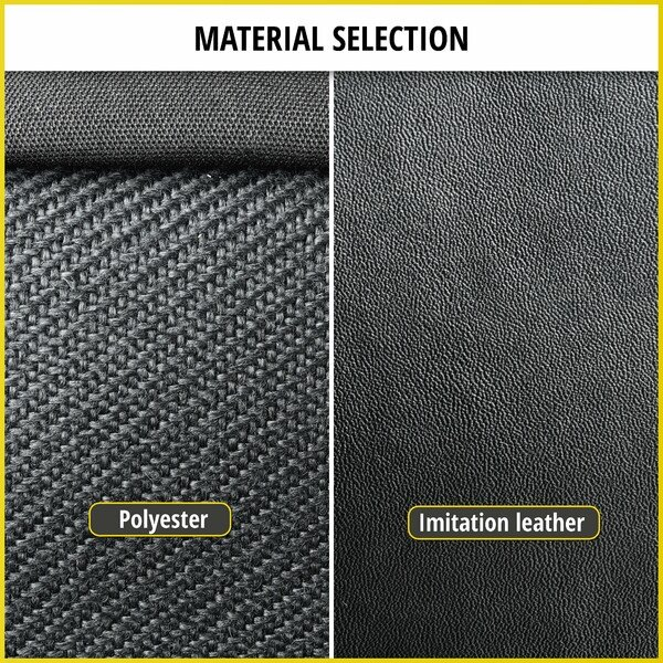 Car Seat cover Transporter made of imitation leather for Opel Combo D, single seat passenger