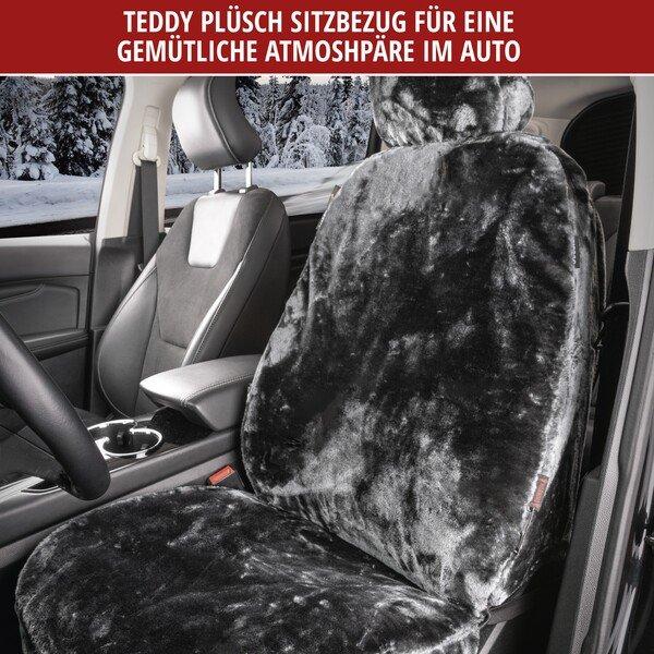 Autositzbezug Teddy anthrazit
