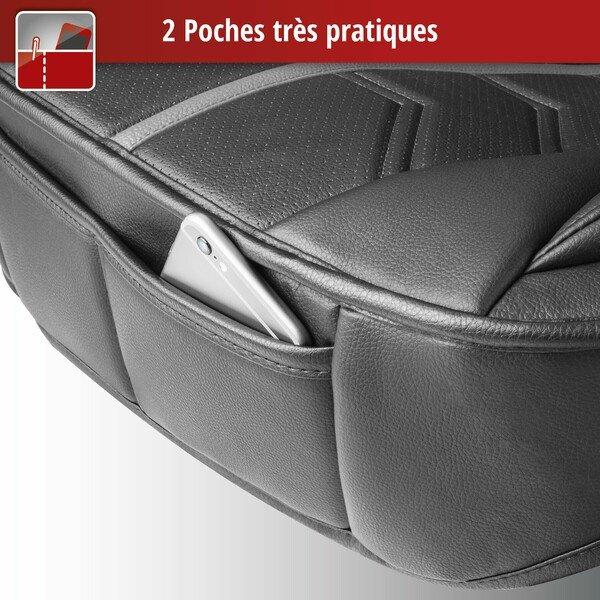 Housses de sièges Kimi noir gris