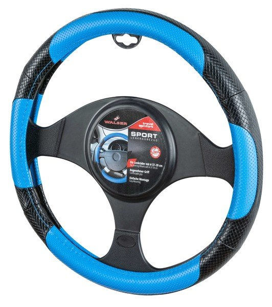 Steering wheel cover steering wheel cover sport blue
