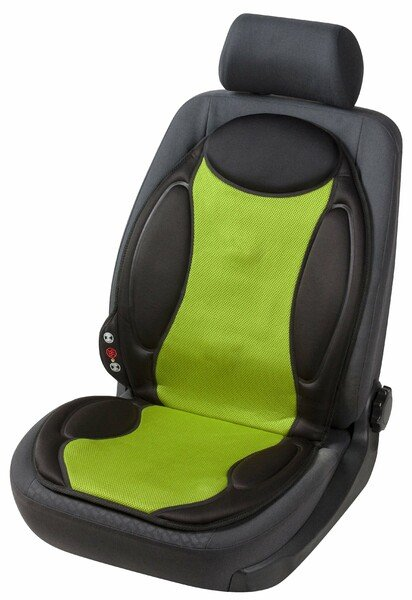 car seat heating cushion seat heating lounge black green with massage function