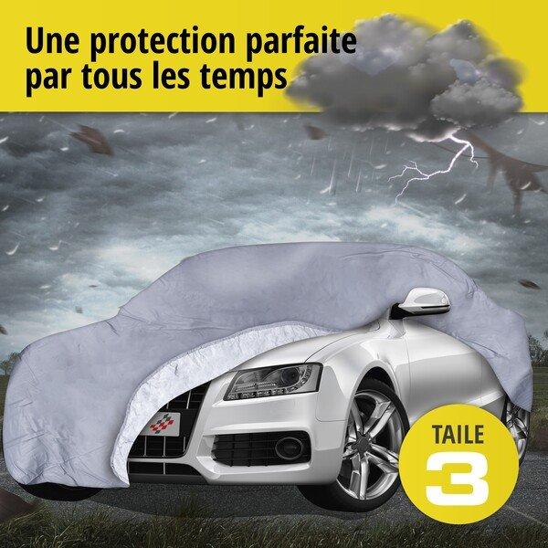 Bâche pour voiture All Weather Premium taille 3 grise