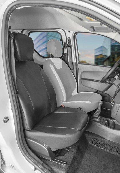 Housse de siège Transporter en simili cuir pour Dacia Dokker, siège passager simple