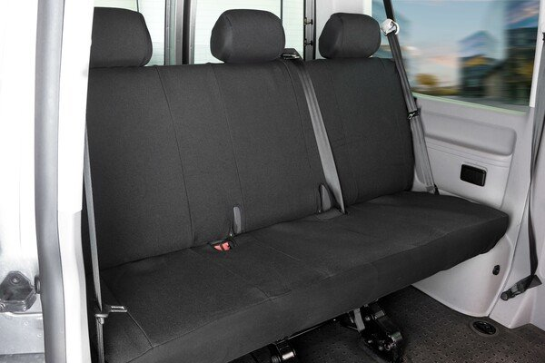 Car Seat covers for VW T5 3er bench made of fabric year of contruction 04/2003 - 06/2015