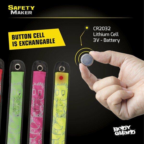 LED click tape yellow