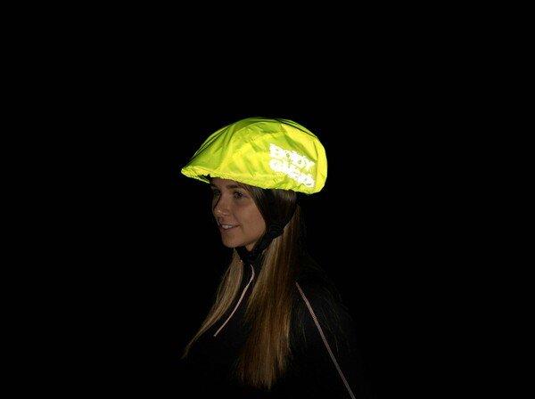 Helmüberzug gelb