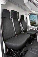 Autoschonbezug Transporter aus Stoff für Citroen Jumper, Einzel- & Doppelbank