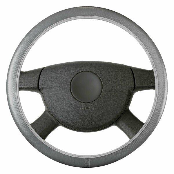 Coprivolante Soft Grip Carbonio - 38 cm grigio