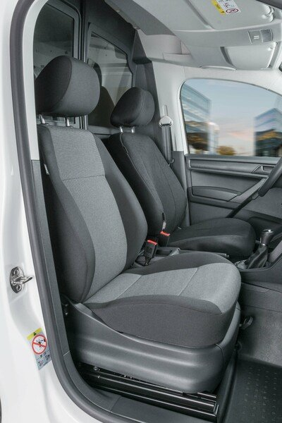 Car Seat cover Transporter made of fabric for VW Caddy, single seat front