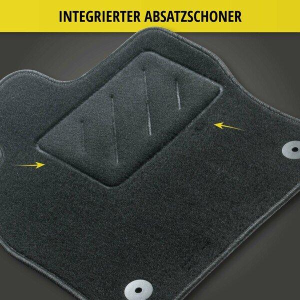 Fußmatten für Renault Master (Führerhaus) Baujahr 04/2010 - Heute