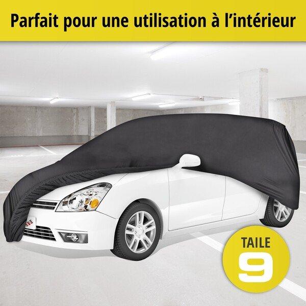 Bâche pour voiture d'intérieur Soft size 9 noir