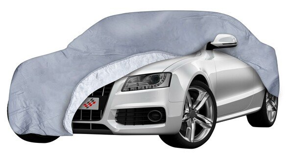 Car tarpaulin All Weather Premium size 3 grey