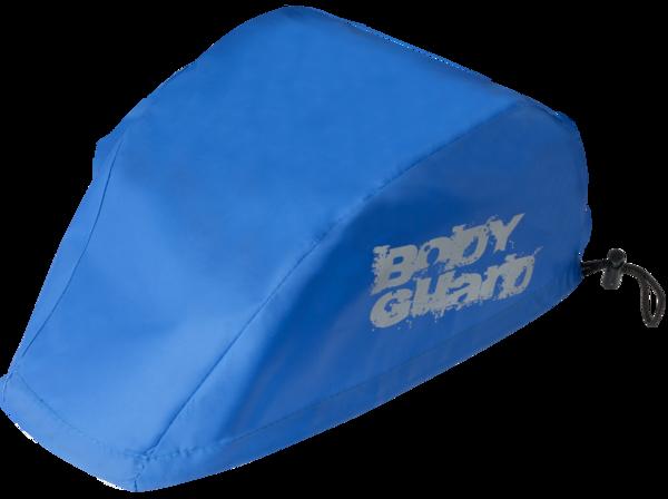Copri casco blu