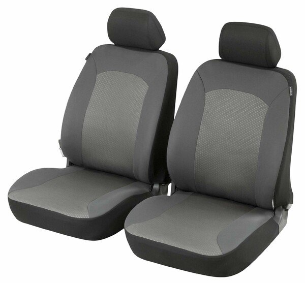 ZIPP IT Premium Manhay Housses de sièges auto pour deux sièges avant avec système de fermeture éclair