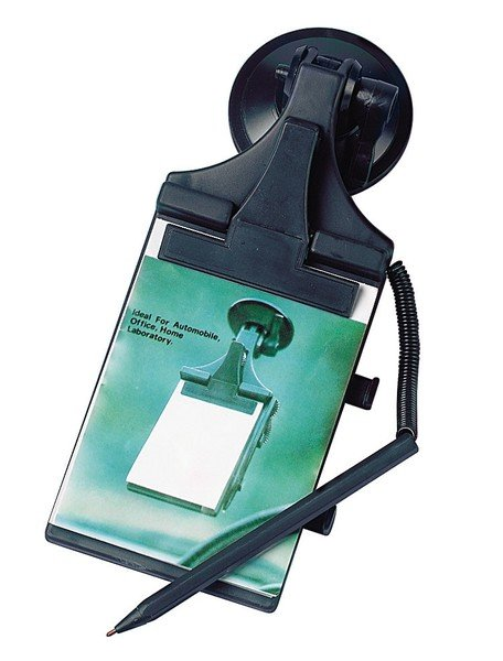 Notepad with suction holder 85 x 115 mm