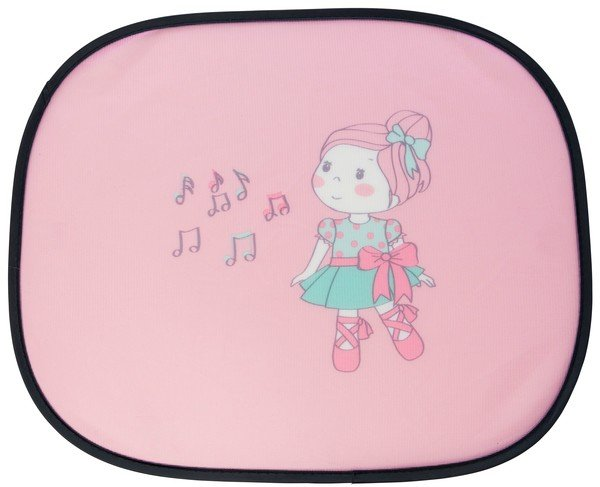 Ballet Doll sunshade set, two sun visors pink