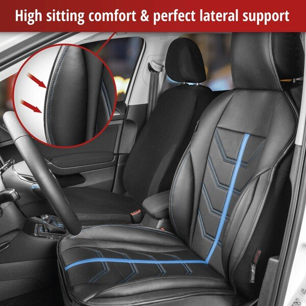 Car Seat cover Kimi black blue