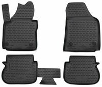 XTR rubber mats for VW Caddy year 03/2004 - 05/2015