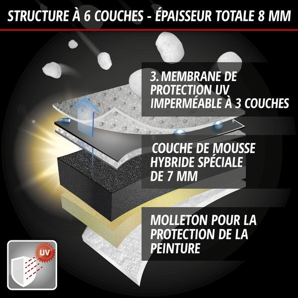 Bâches anti-grêle Hybrid UV Protect SUV taille L