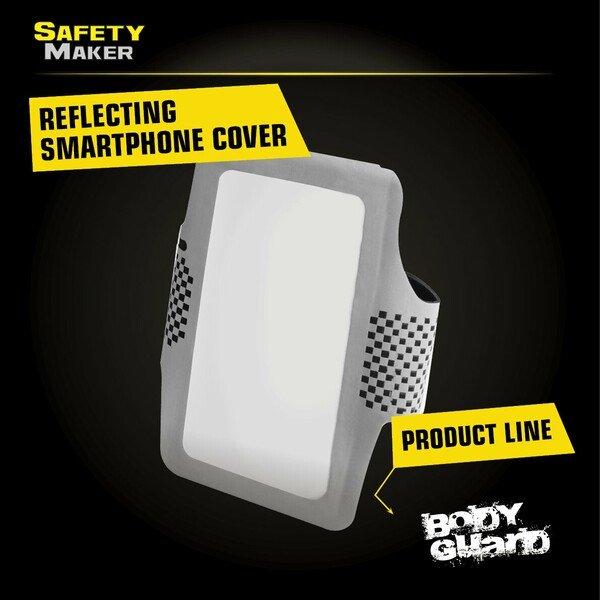 Sport Smartphone Sleeve silver-black