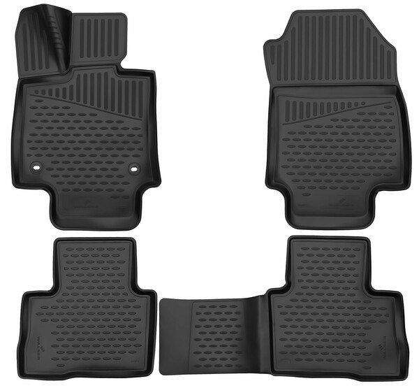 XTR rubber mats for Toyota RAV 4 V year 12/2018 - Today