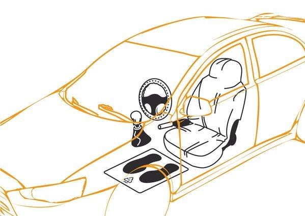 5in1 Einwegbezüge fürs Auto