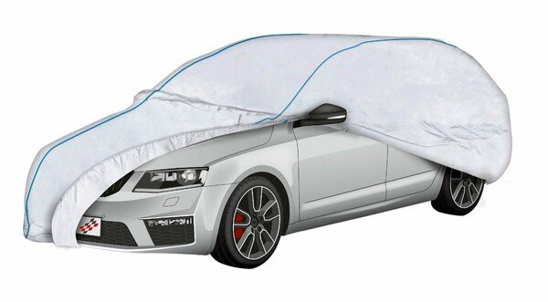 Car tarpaulin Sun Reflect size 7 silver