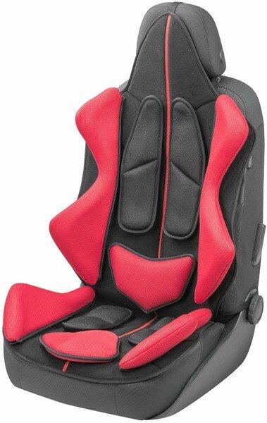 Coprisedili auto X-Race nero rosso