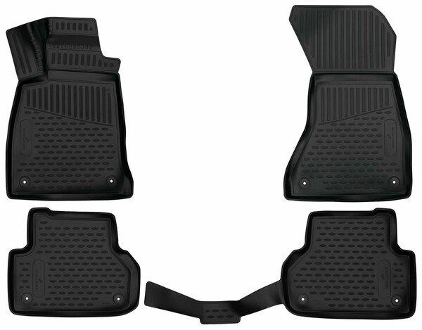 Gummimatten XTR für Audi A5 Sportback Allrad Baujahr 06/2016 - Heute
