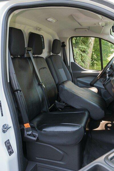 Autoschonbezug Transporter aus Kunstleder für Ford Transit, Doppelbank vorne