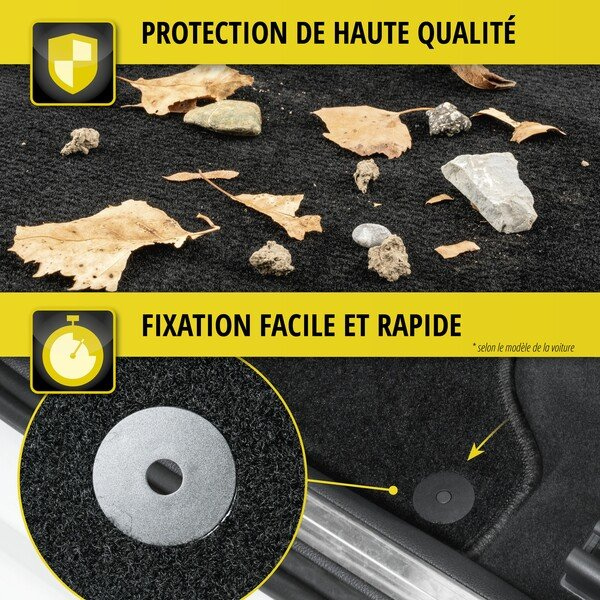 Tapis de sol pour Renault Clio, Collection Clio