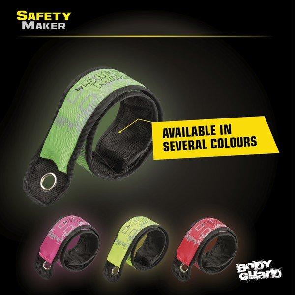 LED click tape green