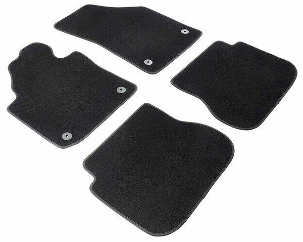 Premium Fußmatten für VW Caddy III 03/2004-05/2015, 2-Sitzer vorne