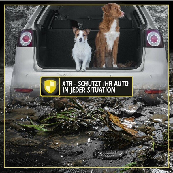 Kofferraumwanne XTR für BMW X6 mit adaptivem Befestigungssystem Baujahr 06/2007 - 07/2019
