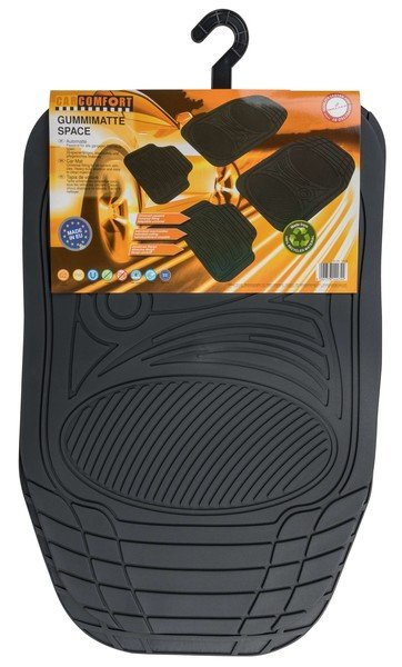 Rubber car mats Space anthracite