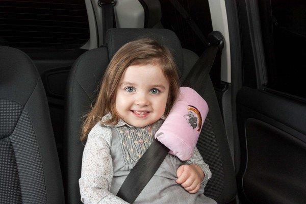 Mini-Schlafkissen Cool Girl rosa ab 3-4 Jahre