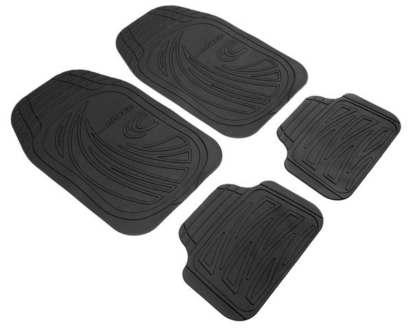 Car Rubber matss Racer anthracite, cut to size