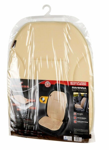 Car Seat cover in imitation leather Ravenna beige