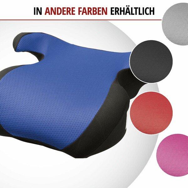 Kindersitzerhöhung Lino schwarz/blau